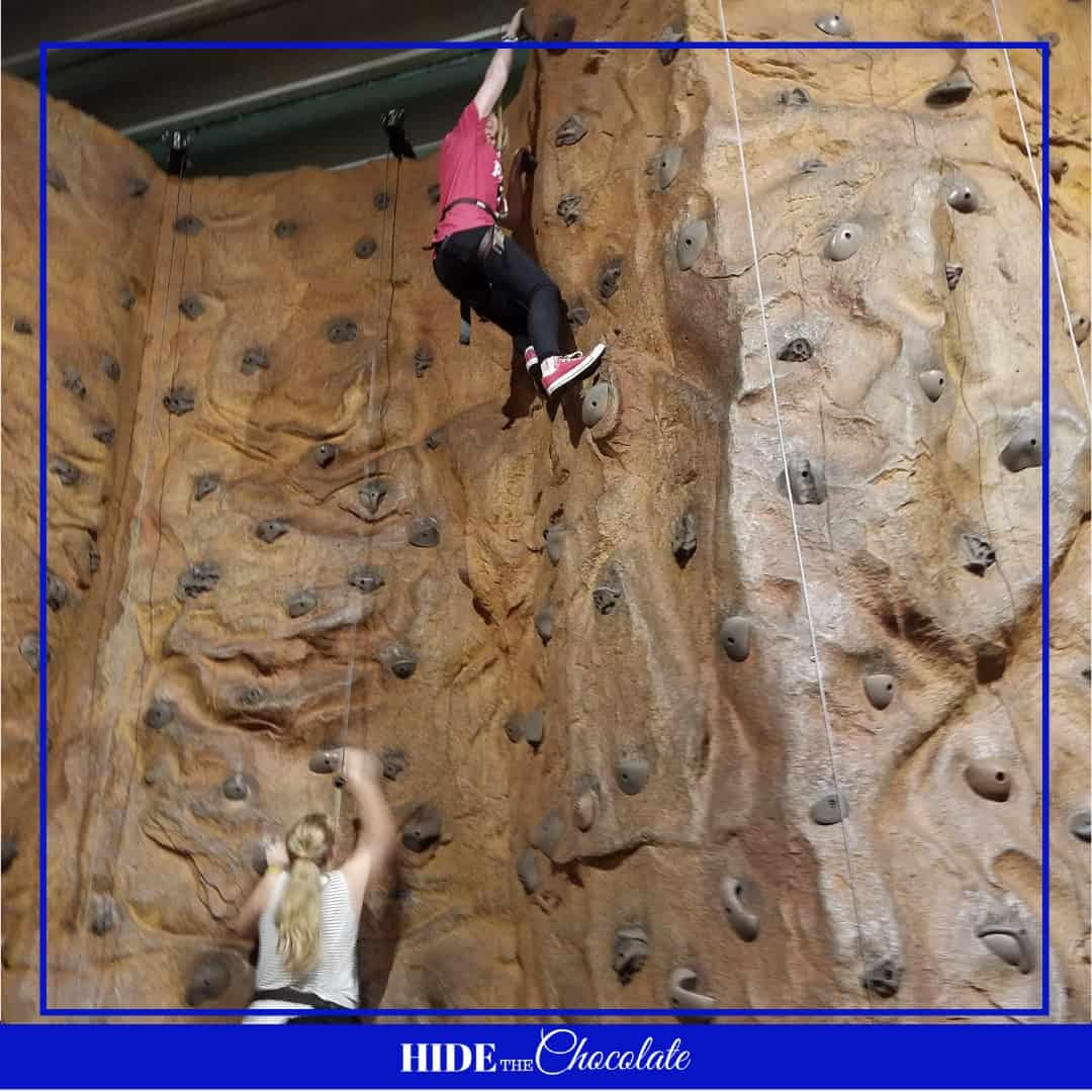 Space Camp Nature Book Club - Wall Climbing