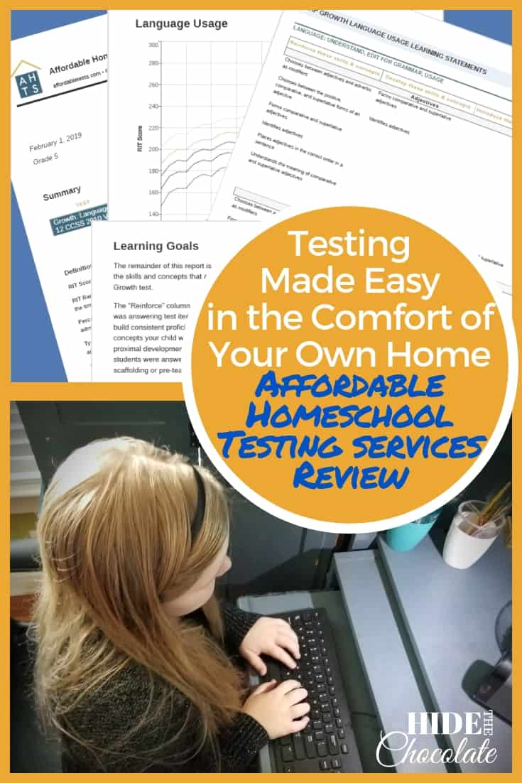 Testing Made Easy In The Comfort Of Your Own Home ~ An Affordable Homeschool Testing Services Review