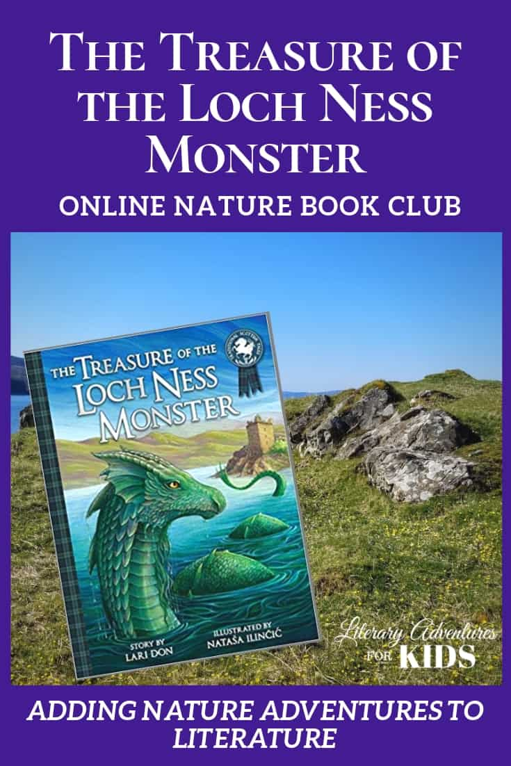 The Treasure of the Loch Ness Monster Online Book Club ~ A Nature Adventure