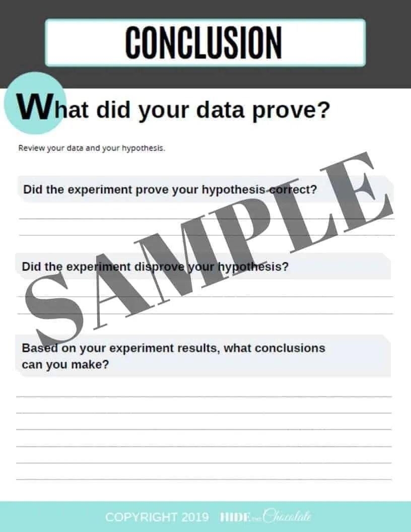Scientific Method Worksheet Sample (2)