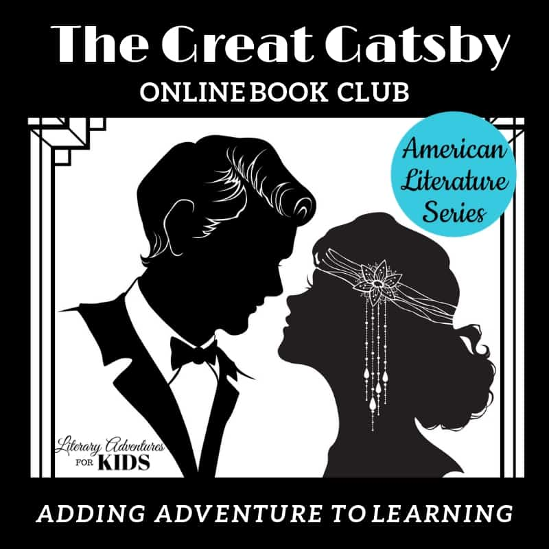The Great Gatsby Online Book Club American Classic Literature Series