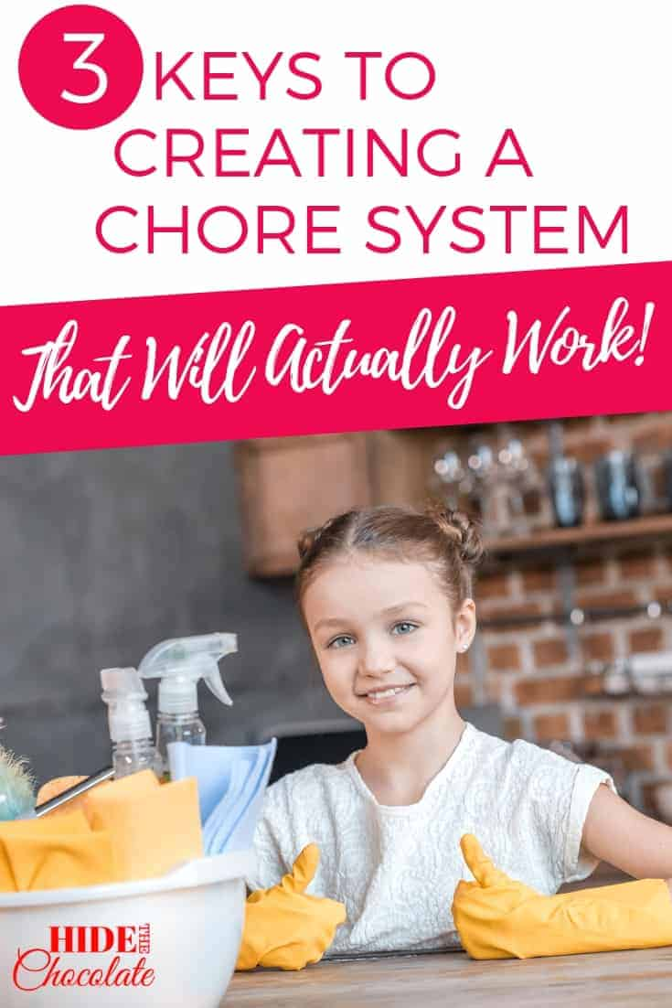 3 Keys to Creating a Chore System That Will Actually Work! PIN