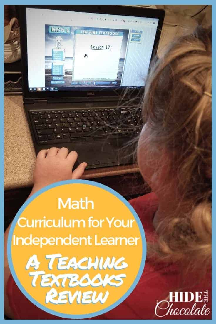 Math Curriculum for Your Independent Learner_ A Teaching Textbooks Review