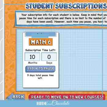 Homeschool Math Curriculum Teaching Textbooks 3.0 - Pause