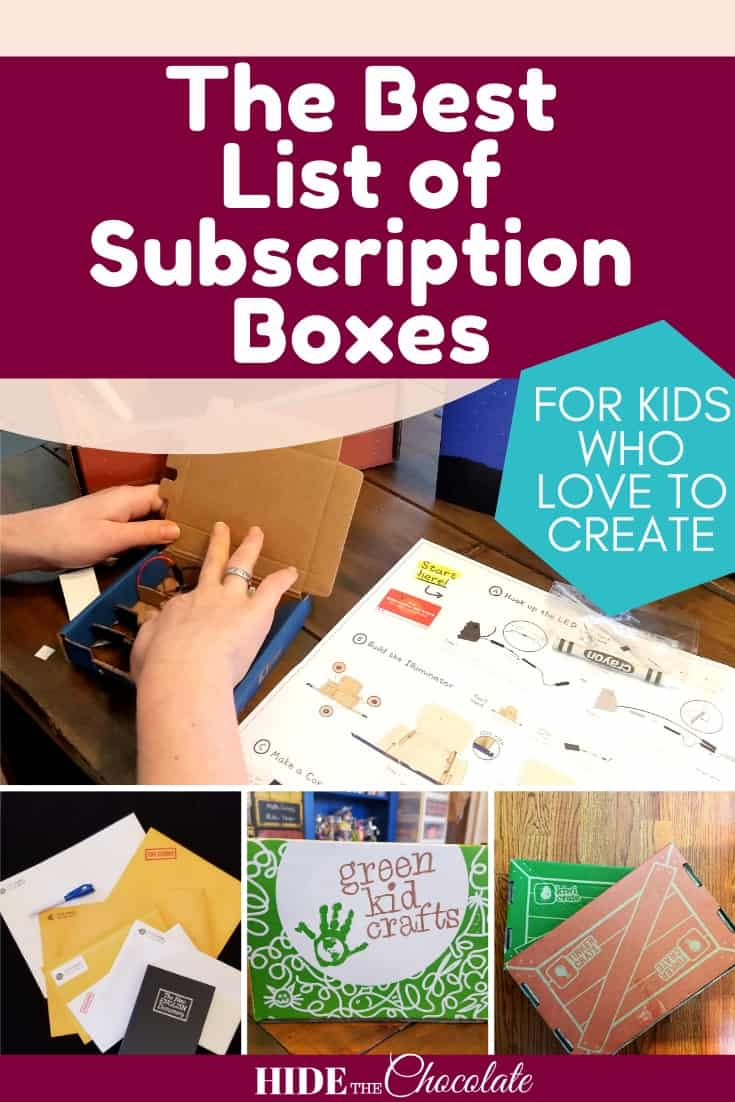 The Best List of Subscription Boxes for Kids