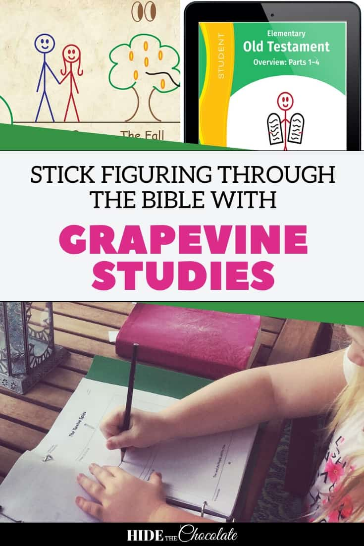 Stick Figuring Through The Bible With Grapevine Studies