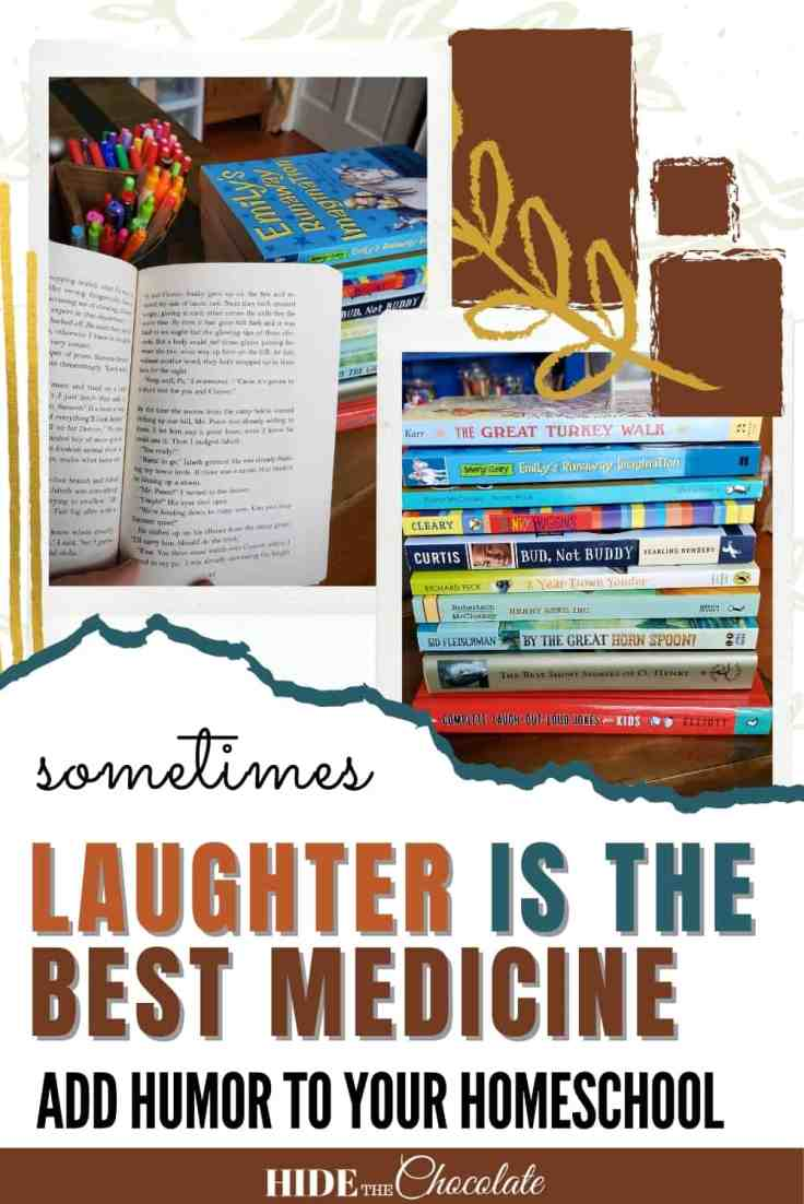 Sometimes Laughter Really Is The Best Medicine _ Adding Humor To Your Homeschool