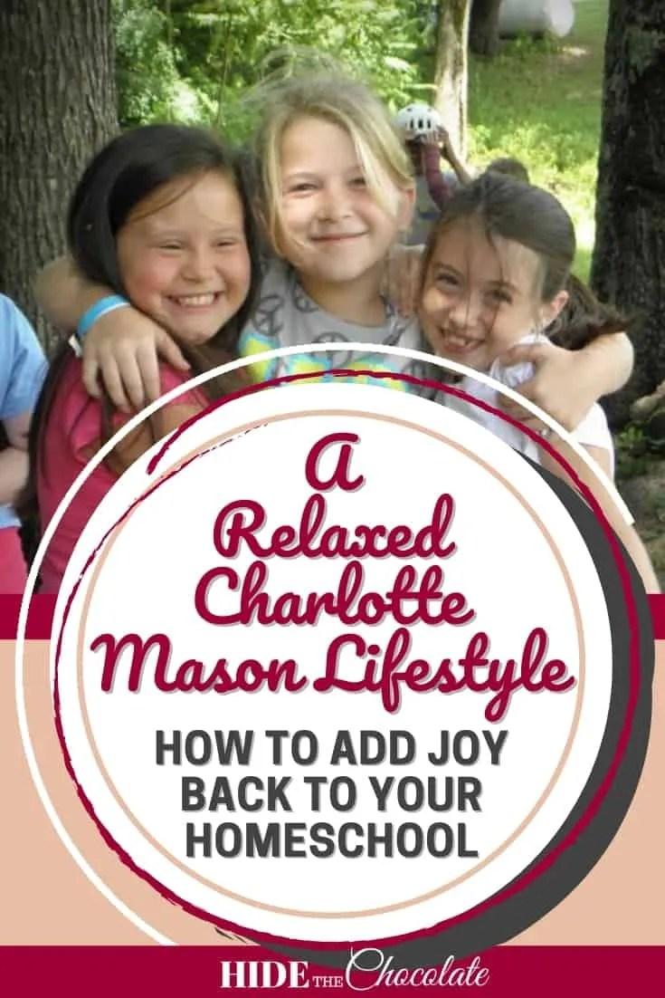 Relaxed Charlotte Mason Lifestyle