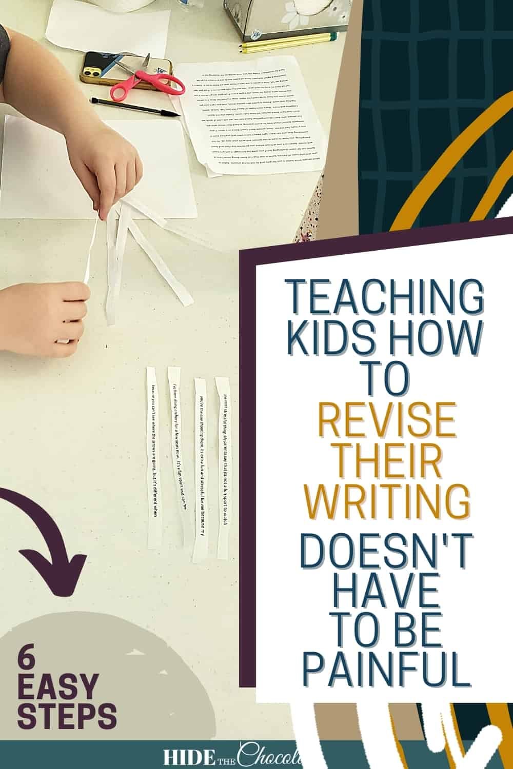 Teaching Kids How To Revise Their Writing Doesn't Have To Be Painful (It Can Actually Be Fun!)