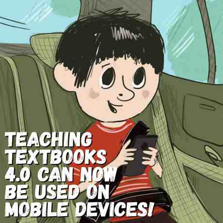 Teaching Textbooks can be used on mobile devices
