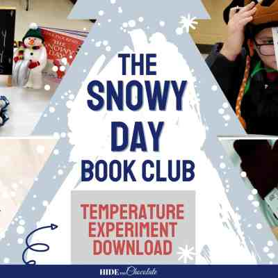 The Snowy Day Nature Book Club ~ A Wintery Party School