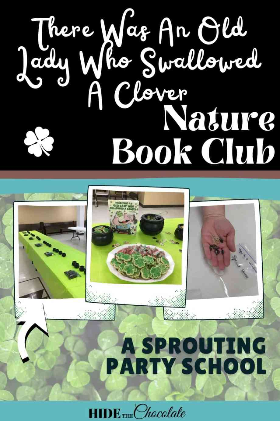 There Was An Old Lady Who Swallowed A Clover Nature Book Club