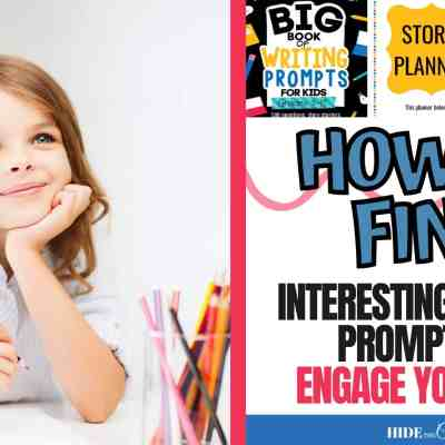How To Find Interesting Writing Prompts to Engage Your Kids