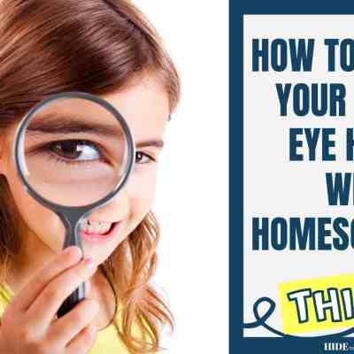 How to Protect Children's Eye Health While Homeschooling This August