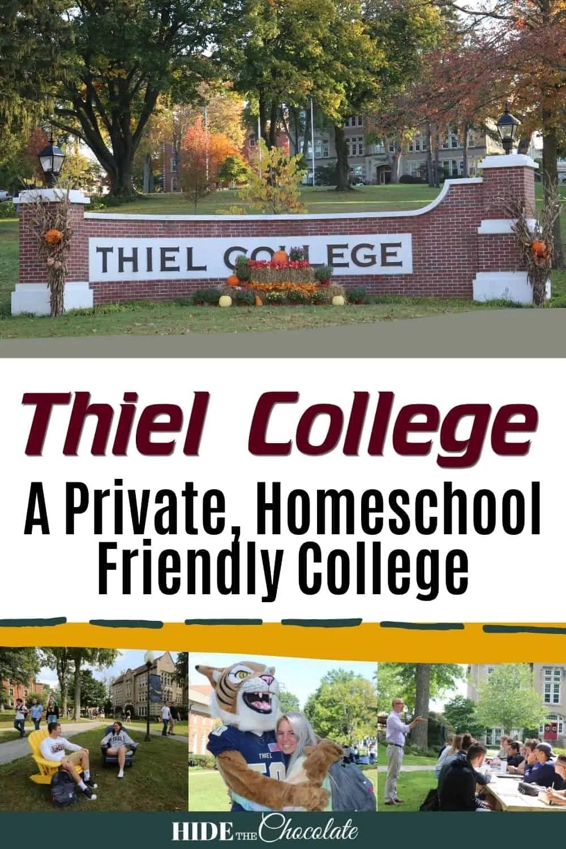 Choosing a Homeschool Friendly College - Thiel College