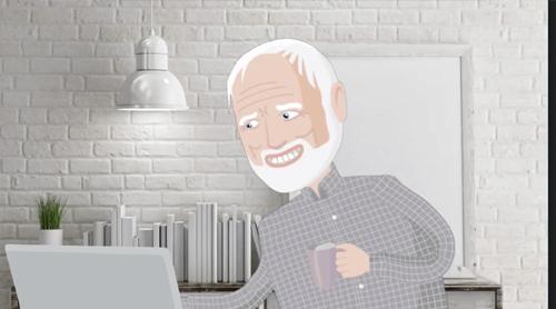 Hide The Pain Harold Meme By Saxton Memedroid