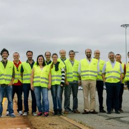 Hidromod's 25th anniversary was celebrated by the whole staff with a visit to the Port of Setúbal
