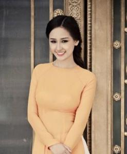 Napel Yellow Extra Ao Dai Ready To Wear