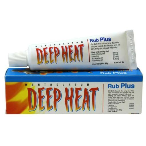 DEEP HEAT RUB PLUS CREAM