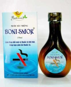 Boni Smok Botania Mouthwash