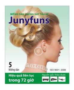 Junyfuns Herbal Patch Motion Sickness
