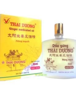 Thai Duong Ginger Medicated Oil