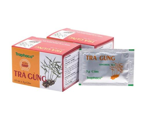 ginger tea traphaco