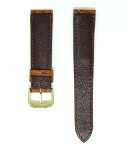 light-brown-ostrich-leather-wristwatch-strap