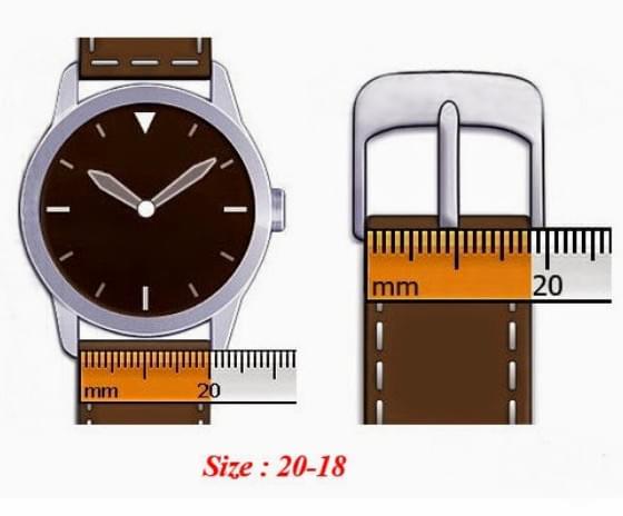 size wrist watch strap hien thao shop