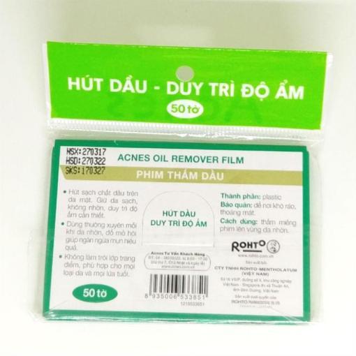 Mentholatum Acnes Oil Remover 4