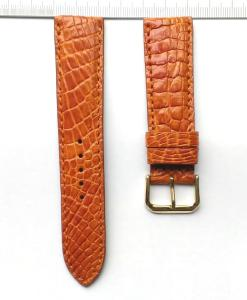 Brown Alligator Watch Strap 22mm