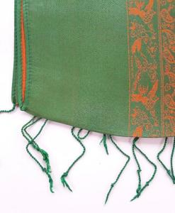 vietnam-grass-green-natural-silkworm-scarf-double-layers