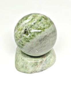 Vietnam Natural Marble Polish Stone Ball Light Green