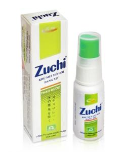 Herbal Deodorant Zuchi Spray Body