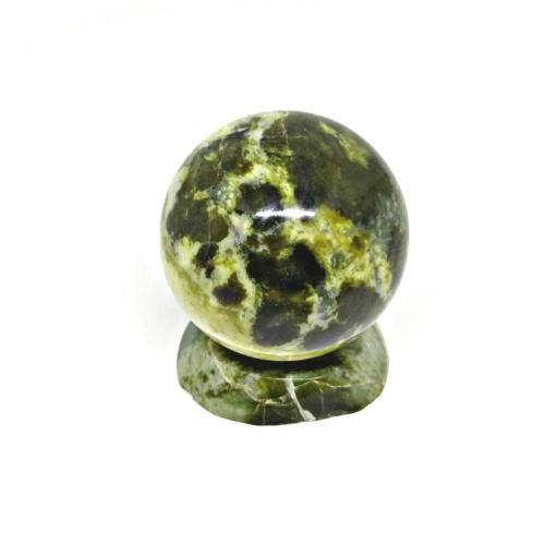 Natural Polish Stone Green Ball Home Decoration