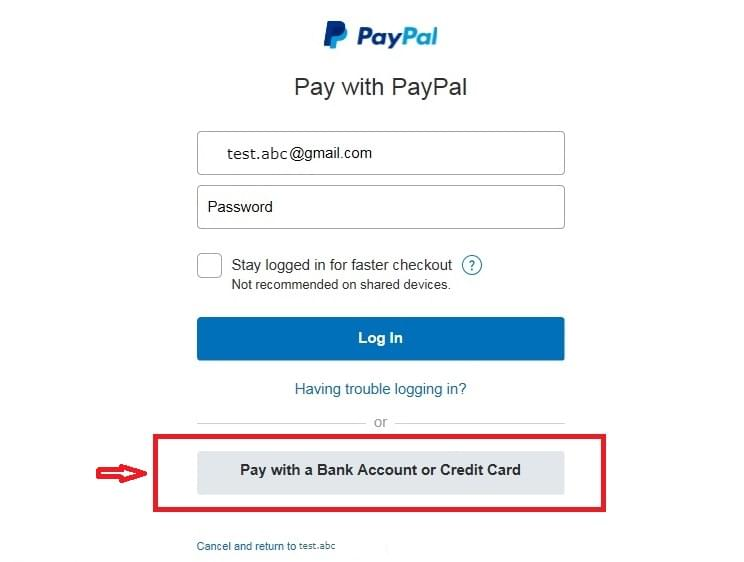 paypal instruction