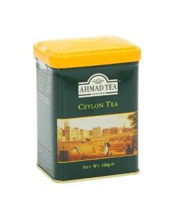 Ahmad Tea Ceylon Tin Box