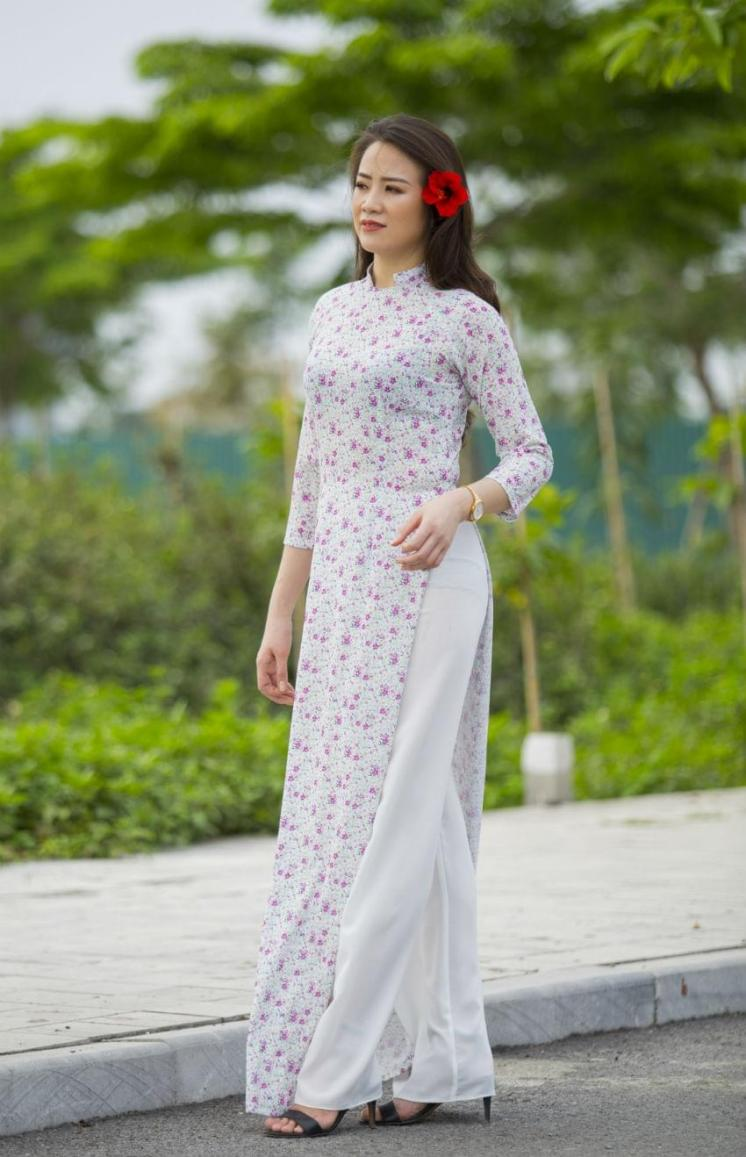 Ao Dai Tailor Made 2018 Collection 3