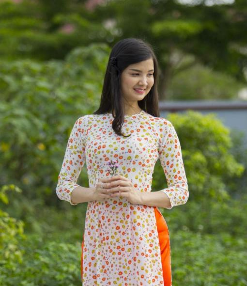 Vietnam Ao Dai New Collection 2018 Custom Made