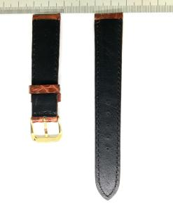 Wrist Watch Strap Crocodile 18mm 2