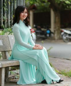 Ao Dai For Sale Double Layer 1