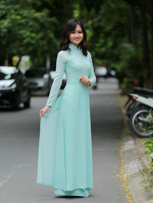 Ao Dai For Sale Double Layer 2