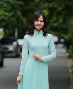 Ao Dai For Sale Double Layer