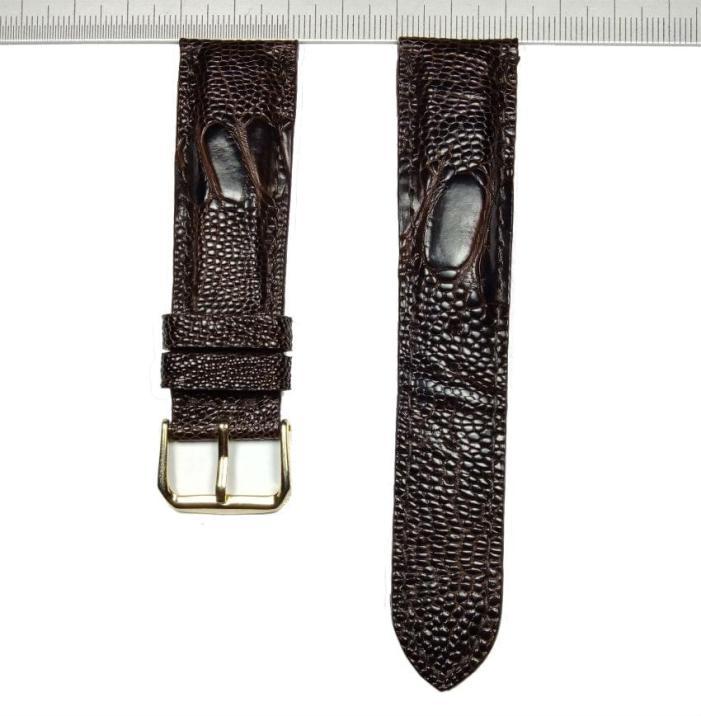 VietnamGenuine Ostrich Watch Strap 22mm