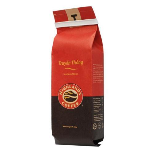 Vietnam Ground Coffee Beans Highlands Traditional Blend