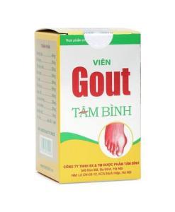Comprimés de goutte de Tam Binh