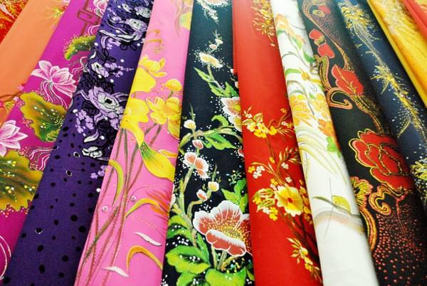 ao dai fabric silk