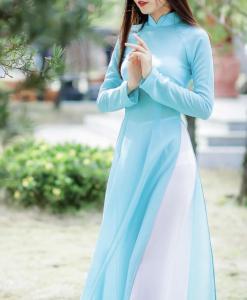 Ao Dai Vietnam tailleurs personnalisés 1