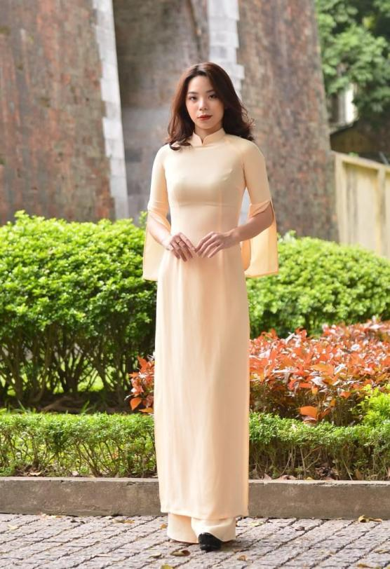 Maize Ao Dai Silk 2