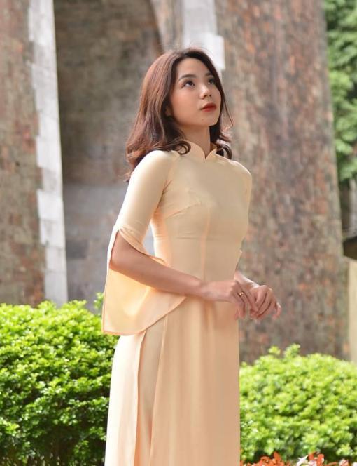 Maize Ao Dai Silk
